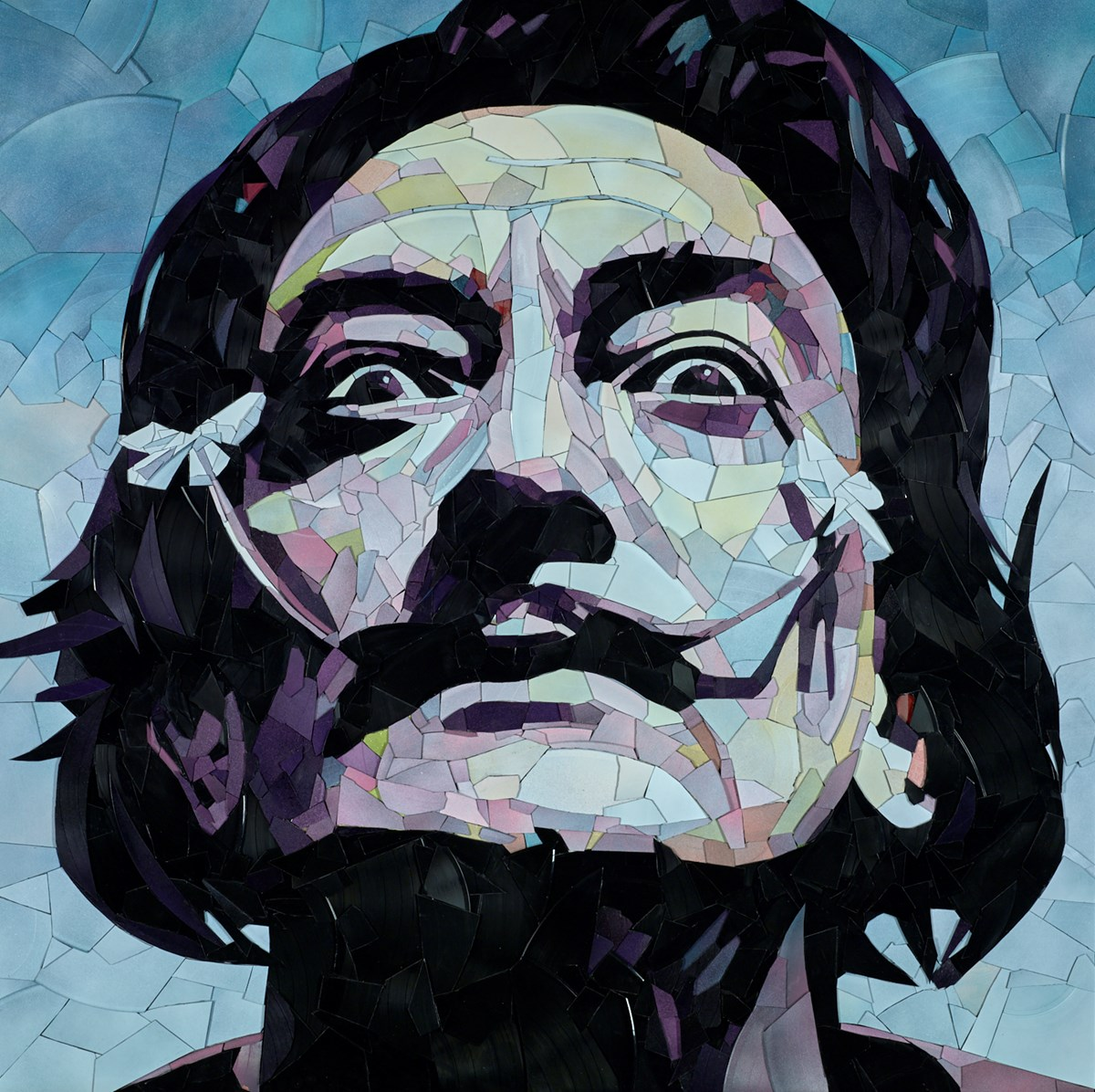 Salvador Dali by ed chapman -  sized 34x34 inches. Available from Whitewall Galleries